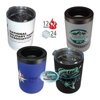 396057284-819 - 12 oz. Halcyon® Tumbler/Can Cooler, FCD with Varnish or Varnish Only - thumbnail