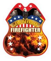 525348957-819 - Plastic Firefighter Badge - thumbnail