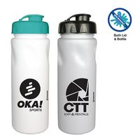576428092-819 - 24 oz. Microhalt Cycle Bottle with Flip Top Cap, Full Color Digital - thumbnail