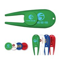 763724736-819 - Green Repair Tool/ Divot Tool & Ball Marker Combo - thumbnail