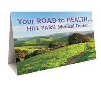 783175023-819 - Full Color Digital Printed Wide Table Tent - thumbnail