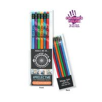 945923381-819 - Create-A-Pack Pencil Set of 6 - Mood Pencil W/ Colored Eraser - thumbnail