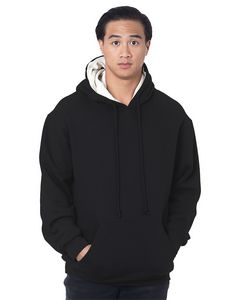 116342549-132 - BAYSIDE Adult Super Heavy Thermal-Lined Hooded Sweatshirt - thumbnail