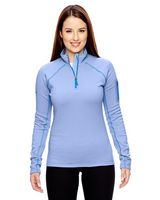354689124-132 - Marmot Mountain Ladies' Stretch Fleece Half-Zip - thumbnail