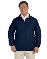 513491949-132 - Harriton Adult Microfiber Club Jacket - thumbnail