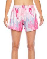 584680127-132 - Team 365 Ladies' Tournament Sublimated Pink Swirl Short - thumbnail