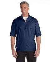 914353438-132 - Adidas Men's climalite Colorblock Half-Zip Wind Shirt - thumbnail