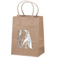 176487208-185 - Eco Pup Kraft-Brown Shopper Bag (Brilliance- Matte Finish) - thumbnail