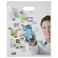 "515756560-185 - Digital Full-Color Die Cut Bag (12""x15"") - thumbnail"