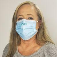 566271715-185 - USA Made 3-PLY Face Mask-1 color imprint - thumbnail