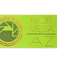 """746351067-185 - 5"""" Badge Satin Ribbon (Sparkle) - thumbnail"""