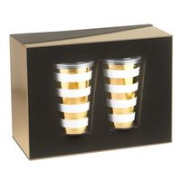 915416590-202 - Slurpy Gift Set with 2 - 16 oz Double Wall Tumblers with Straw - thumbnail