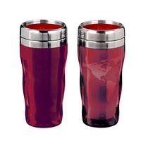 946002788-202 - Heat Wave Global 16 oz. tumbler features heat-changing technology. Reveals world map - thumbnail