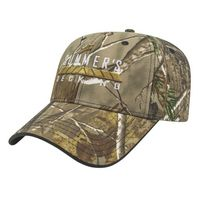 504576717-812 - Two-Tone Camo Cap w/Visor Trim - thumbnail
