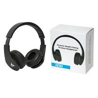 905199626-140 - Dynamic Stealth Folding Wireless Headphones - thumbnail