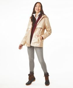 776167437-141 - Women's New Englander® Rain Jacket with Floral Printed Lining - thumbnail