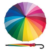 303733120-114 - MoMA Color Spectrum Stick Umbrella - thumbnail
