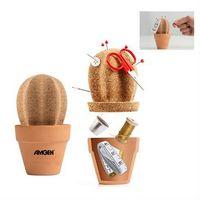316006734-114 - suckUK Cork Cactus Desk Organizer - thumbnail