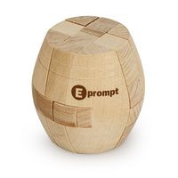 513196523-114 - Barrel Shaped Wood Puzzle - thumbnail