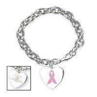 992010959-114 - Linx Bracelet w/ Heart Charm - thumbnail