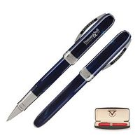 993202716-114 - Visconti Rembrandt Rollerball Pen (Navy Blue) - thumbnail
