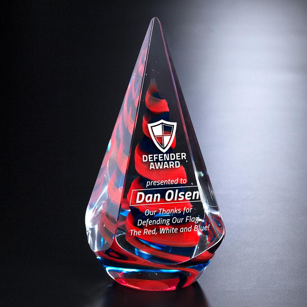 """305458304-133 - Patriot Award 8-1/4"""" - thumbnail"""