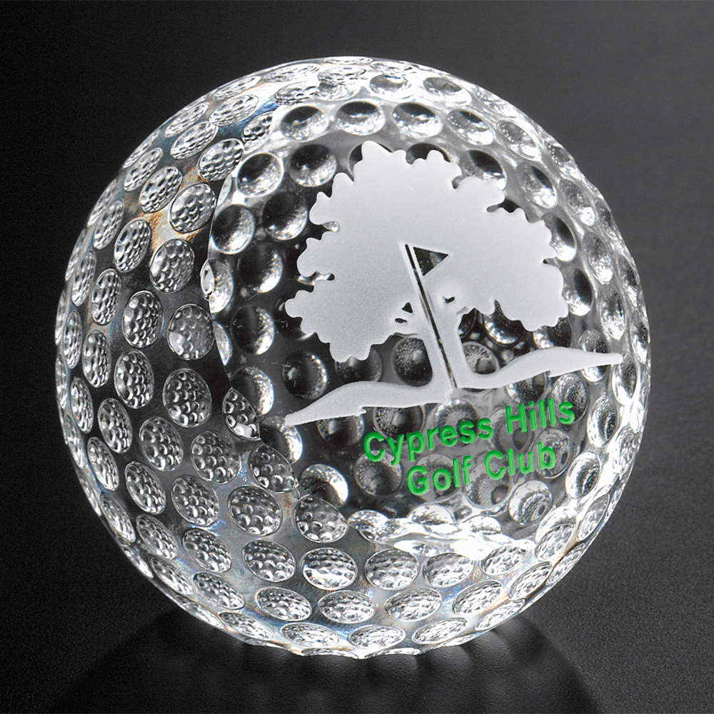 "332246353-133 - Clipped Golf Ball 2-3/8"" Dia. - thumbnail"