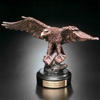 """351601308-133 - Eagle on Rock 8-1/2"""" - thumbnail"""