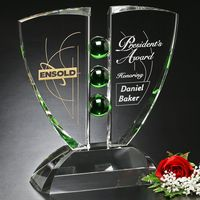 "353382526-133 - Pinion Emerald Award 12"" - thumbnail"