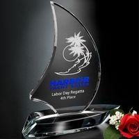 """392062232-133 - Sailboat Award 8"""" - thumbnail"""
