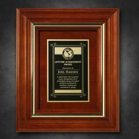 """512865260-133 - Americana Plaque 11-3/4"""" x 9-3/4"""" with Wood Insert - thumbnail"""