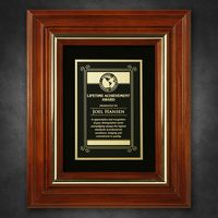 """552865240-133 - Americana Plaque with Velour 11-3/4"""" x 9-3/4"""" - thumbnail"""