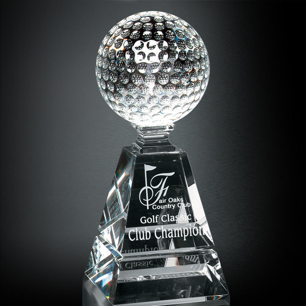 "722246280-133 - Golf Pyramid Award 10"" - thumbnail"
