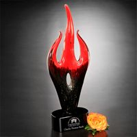 "733987072-133 - Red Flame Award 16"" - thumbnail"