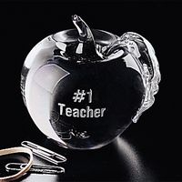 """792246379-133 - Apple Paperweight 3-1/4"""" - thumbnail"""