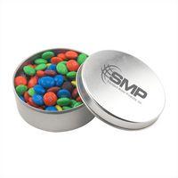 104520771-105 - Round Tin w/M&M's - thumbnail