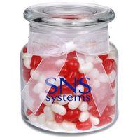115554603-105 - 22 Oz. Glass Jar w/ Gourmet Jelly Beans - thumbnail