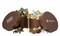 155554782-105 - Large Hat Box w/Gourmet Cookies (25 Pieces) - thumbnail
