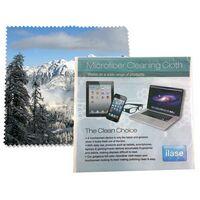 174306020-105 - Microfiber Cloth 6x6 with Custom Card in Bag - thumbnail