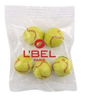 324513587-105 - Snack Bag w/Chocolate Tennis Balls - thumbnail