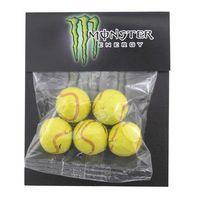 334517012-105 - Billboard Bag w/Chocolate Tennis Balls - thumbnail