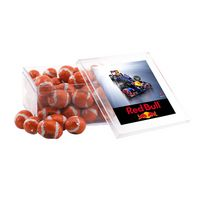 354521813-105 - Acrylic Box w/Chocolate Footballs - thumbnail