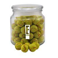 354522803-105 - Jar w/Chocolate Tennis Balls - thumbnail