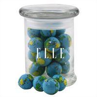 374523130-105 - Jar w/Chocolate Globes - thumbnail