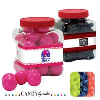 385554399-105 - Junior Grip Tub Resealable Container Filled w/ Jelly Belly - thumbnail