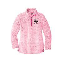 546363642-105 - Port Authority Ladies Cozy 1/4-Zip Fleece - thumbnail