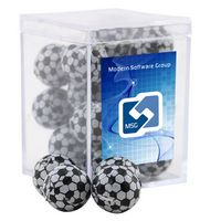 554521410-105 - Acrylic Box w/Chocolate Soccer Balls - thumbnail