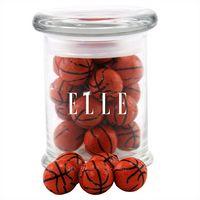 774523136-105 - Jar w/Chocolate Basketballs - thumbnail