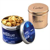 794522087-105 - Round Tin w/Caramel Popcorn - thumbnail