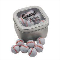 924520614-105 - Window Tin w/Chocolate Baseballs - thumbnail